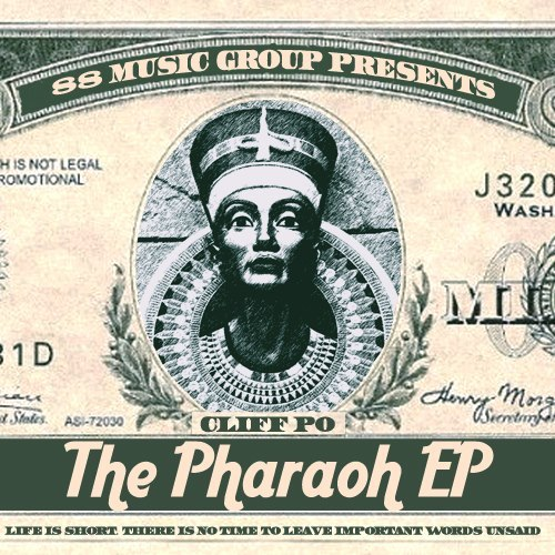 Cliff+Po+-+The+Pharaoh+EP+-+ARTWORK