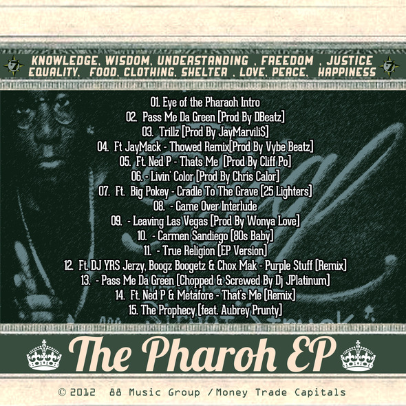 Cliff+Po+-+The+Pharaoh+EP+-+ARTWORK+[BACK]
