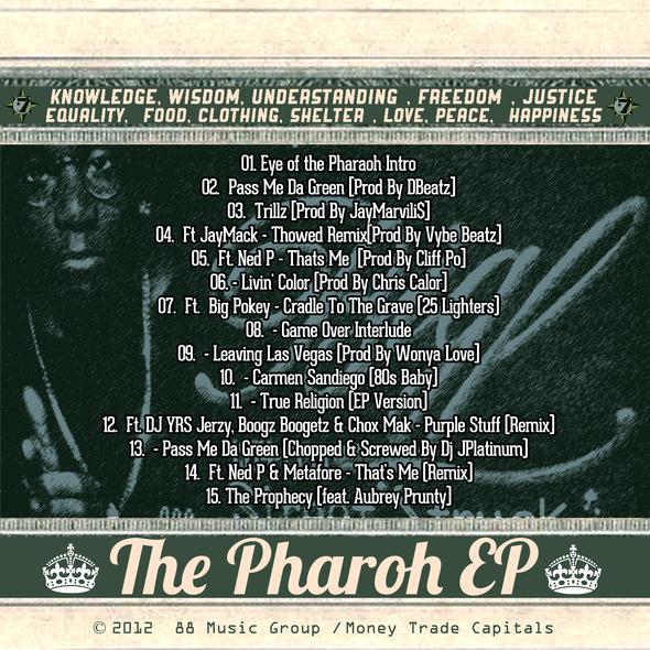 Cliff+Po+-+The+Pharaoh+EP+-+ARTWORK+[BACK]